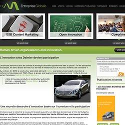 L'innovation chez Daimler devient participative