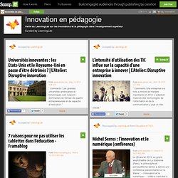 Innovation en pédagogie