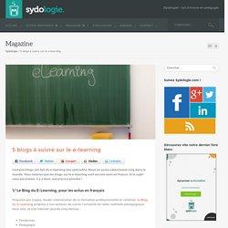 5 blogs à suivre sur le e-learning