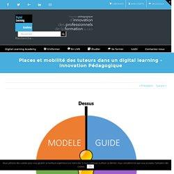Places et mobilité des tuteurs dans un digital learning - Innovation Pédagogique