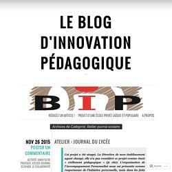 Le Blog d'Innovation Pédagogique