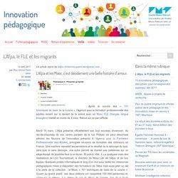L'Afpa, le FLE et les migrants - Innovation Pédagogique