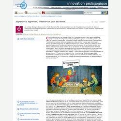 innovation pédagogique - apprendre à apprendre, ensemble et pour soi-même