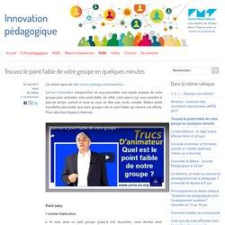 Trouvez le point faible de votre groupe en quelques minutes - Innovation Pédagogique