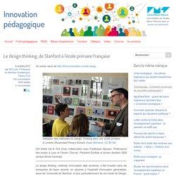 Le design thinking, de Stanford à l'école primaire française