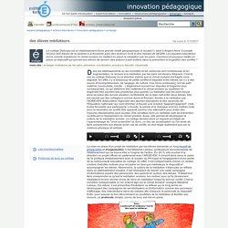 innovation pédagogique - des élèves médiateurs