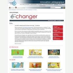innovation pédagogique - revue échanger