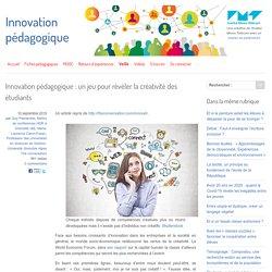 Innovation pédagogique : un jeu pour révéler la créativité des étudiants