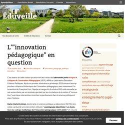 """L'""""innovation pédagogique"""" en question"""