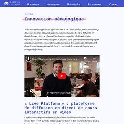 Innovation pédagogique - Cartesia Éducation