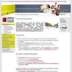 Innovation pédagogique - Site INP de Toulouse