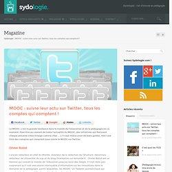MOOC : suivre leur actu sur Twitter, tous les comptes qui comptent !