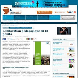 L'innovation pédagogique en 10 points