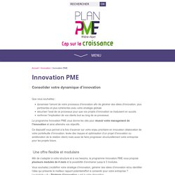 Innovation PME