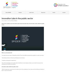 Innovation Labs in the public sector