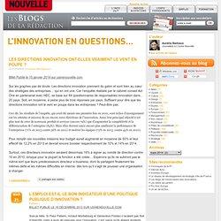 L'innovation en question - Le blog Innovation de L'Usine Nouvelle