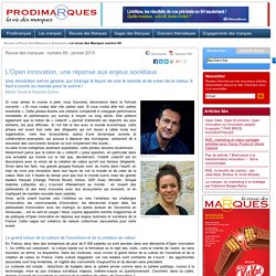 L'Open innovation, une réponse aux enjeux sociétaux - par Martin Duval et Natacha Dufour