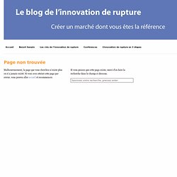 Innovation de rupture