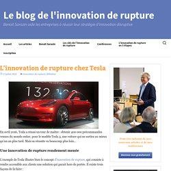 L'innovation de rupture chez Tesla