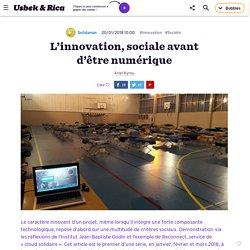 L'innovation, sociale avant d'être numérique