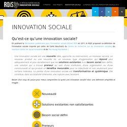 Innovation sociale - Réseau québécois en innovation sociale - Réseau québécois en innovation sociale