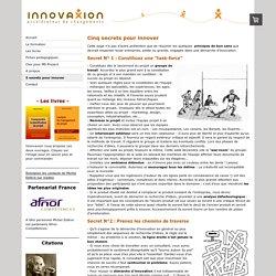 Quelques conseils pour réussir son projet d'innovation - innovaxion, experts en management de projets, specialistes de microsoft project.