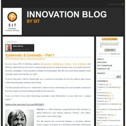 SIT – Systematic Inventive Thinking®