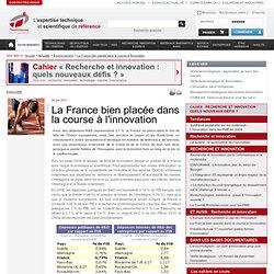 La France bien placée dans la course à l'innovation
