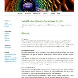 La SNPE, dont l'histoire s'est achevée fin 2013 - Bienvenue sur le site d'AETV-Balard conseil en innovation et management des technologies