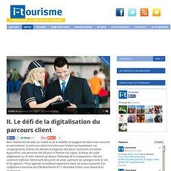 L'innovation technologique au service du tourisme
