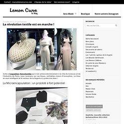 L'innovation textile se propage même dans le secteur de la lingerie !