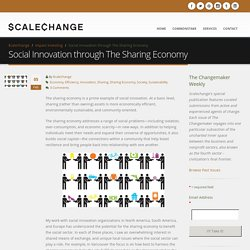 Social Innovation through The Sharing Economy