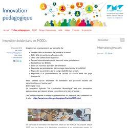 Innovation totale dans les MOOCs