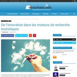 De l'innovation dans les moteurs de recherche touristiques