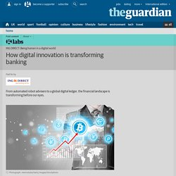 How digital innovation is transforming banking
