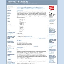 Innovation Tribune: Innocentive