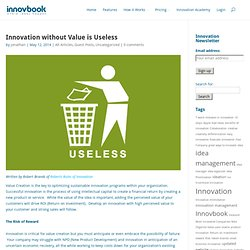 Innovation without Value is Useless - Innovbook