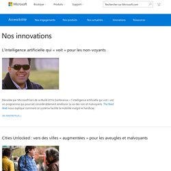 Microsoft Accessibilité