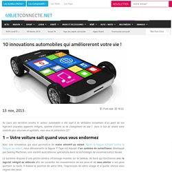 10 innovations automobiles qui amélioreront votre vie !