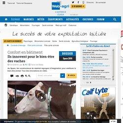 Innovations pour le bien-être animal des bovins au Space 2016