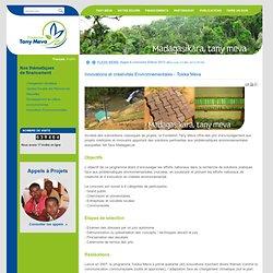 Innovations et créativités Environnementales - Tosika Meva