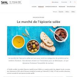 Innovations marché épicerie salée - Tendances