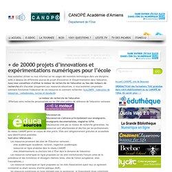 + de 20000 projets d'innovations et expérimentations numériques pour l'école
