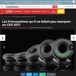 Les 9 innovations qu'il ne fallait pas manquer au CES 2017
