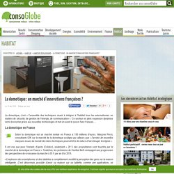 La domotique : un marché d'innovations françaises ?