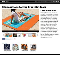 9 Innovations for the Great Outdoors