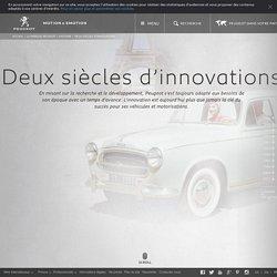 Innovations - Histoire