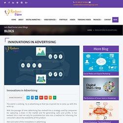Innovations in Advertising