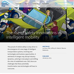 The rise of safety innovations in intelligent mobility