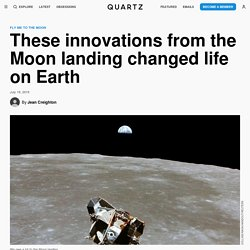 Innovations from Apollo 11 Moon landing that changed life on Earth